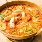 Receta de sopa de pescado rápida en el microondas