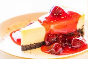 Tarta de queso o cheesecake en el microondas