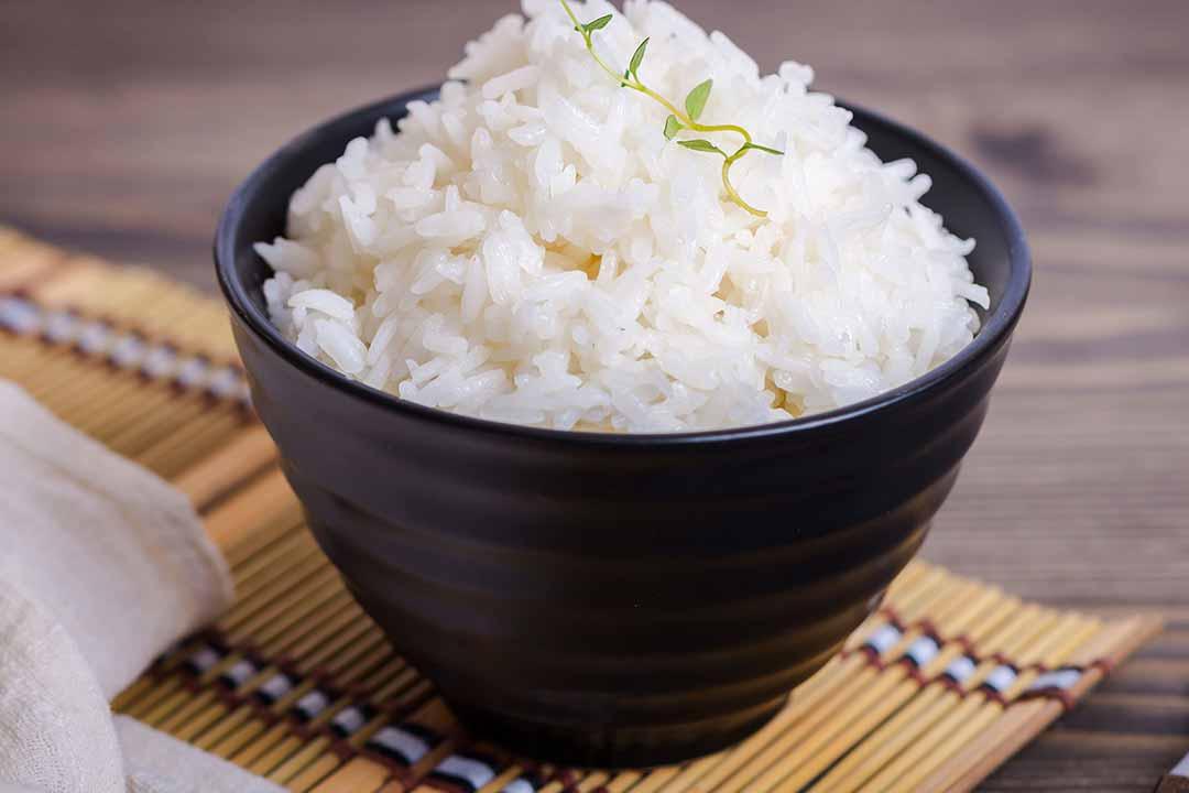 Receta de arroz blanco al microondas