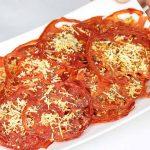 Receta de chips de tomate en el microondas