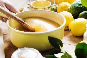Lemon curd o crema de limón en el microondas