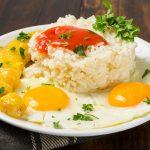 Como hacer arroz a la cubana al microondas