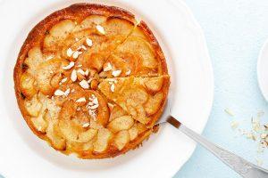 Como hacer tarta de manzana al microondas